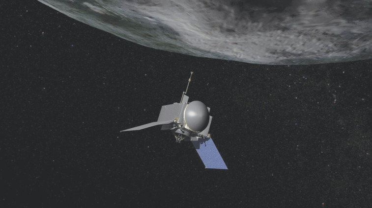 Osiris Rex at Asteroid Bennu