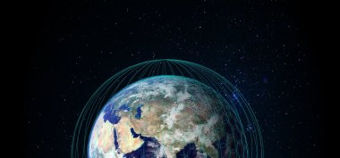OneWeb plans to build a 650-satellite constellation to provide global Internet access. Credit: OneWeb Ltd.