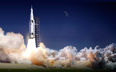 Orbital ATK is providing propulsion for NASA's SLS Credit: NASA
