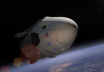 SpaceX Crew Dragon. Credit: SpaceX artist's concept