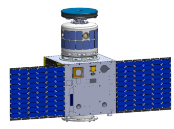 Mothership, a carrier satellite that can contain up to 6 catcher satellites, called Boy, will be launched as a primary payload. In its first demonstration, targeted for 2017, one Mothership and one Boy will be launched as a piggyback payload. Credit: Astroscale