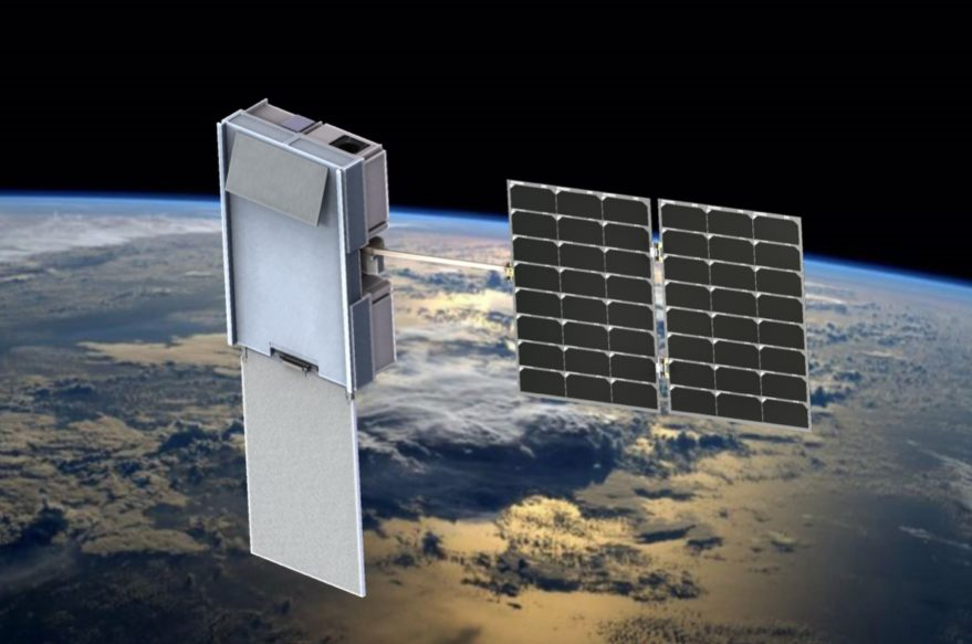 Artist's concept of the satellites that Blue Canyon Technologies is building for PlanetiQ in Boulder, Colorado. Credit: PlanetiQ