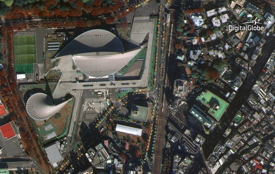 WorldView-4 Toyko Japan First Image DigitalGlobe