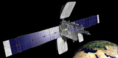 Artist's concept of the Belintersat-1 satellite that launched in January 2016 aboard a Chinese Long March rocket. Credit: Belintersat