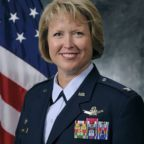 Col. DeAnna Burt, commander of the 50th Space Wing, Air Force Space Command, at Schriever Air Force Base, Colorado.