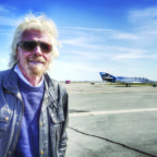 Virgin Group's Sir Richard Branson is a leading competitor in an undeclared suborbital space race