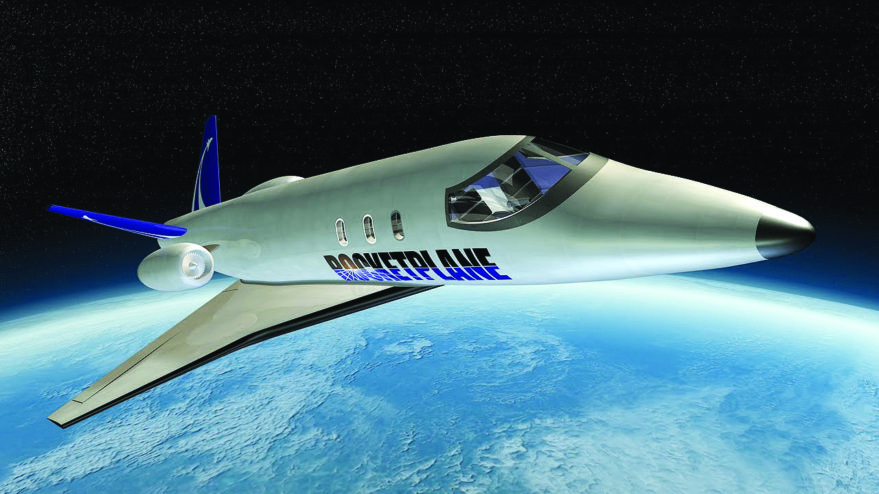 Rocketplane Global's suborbital dreams ended with Chapter 7 bankruptcy.