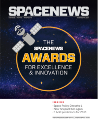 SPACENEWS AWARDS ISSUE 2017