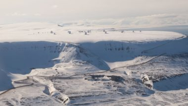 To get JPSS-1 data into the forecasts more quickly, NOAA plans to downlink it to a ground station in Svalbard, Norway. (Credit: Kongsberg Satellite Services AS)