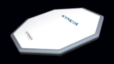 Kymeta's mtenna electronically steered satellite antenna