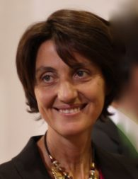 Luisa Innocenti, who heads ESA's Clean Space Office.
