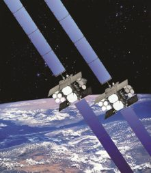 Congress slipped an extra pair of WGS satellites into the 2018 omnibus bill. Credit: Boeing