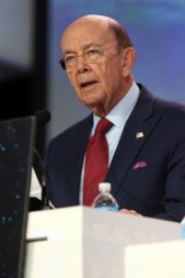 """The U.S. space sector is witnessing a """"convergence of technology, convergence of capital, and convergence of political will."""" Wilbur Ross, U.S. Secretary of Commerce. Credit: Tom Kimmell for SpaceNews"""