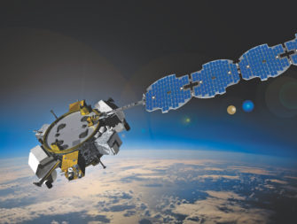 Northrop Grumman Innovation Systems' ESPAStar can accommodate as many as six payloads that remain on the ring, 12 payloads that detach or some combination of the two. Credit: Northrop Grumman Innovation Systems