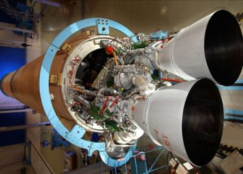 Congressional pressure to stop entrusting national security payloads to the Russian built RD-180 engines that power Atlas 5 prompted the U.S. Air Force to get moving on its EELV follow-on program. Credit: NASA