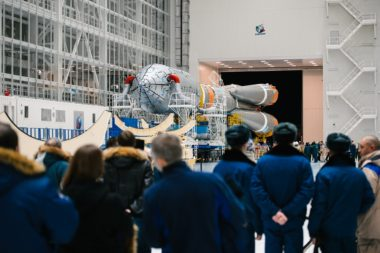 Over 1,000 personnel from Baikonur are flown into Vostochny to support a Soyuz launch. Much of the processes resemble those seen at Baikonur. Credit: GK Launch Services