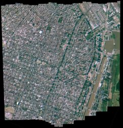 Buenos Aires-based Satellogic, which is building a constellation of hyperspectral satellites, used its one of its current spacecraft to capture this image of Argentina. Credit: Satellogic